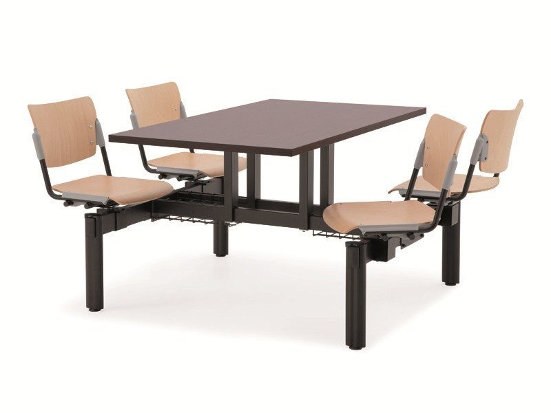 Beech beam seating LAMIA WOOD | Beam seating - Diemmebi