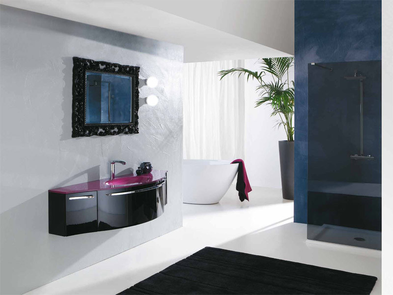 Lacquered vanity unit with drawers GENIUS G211 - LEGNOBAGNO