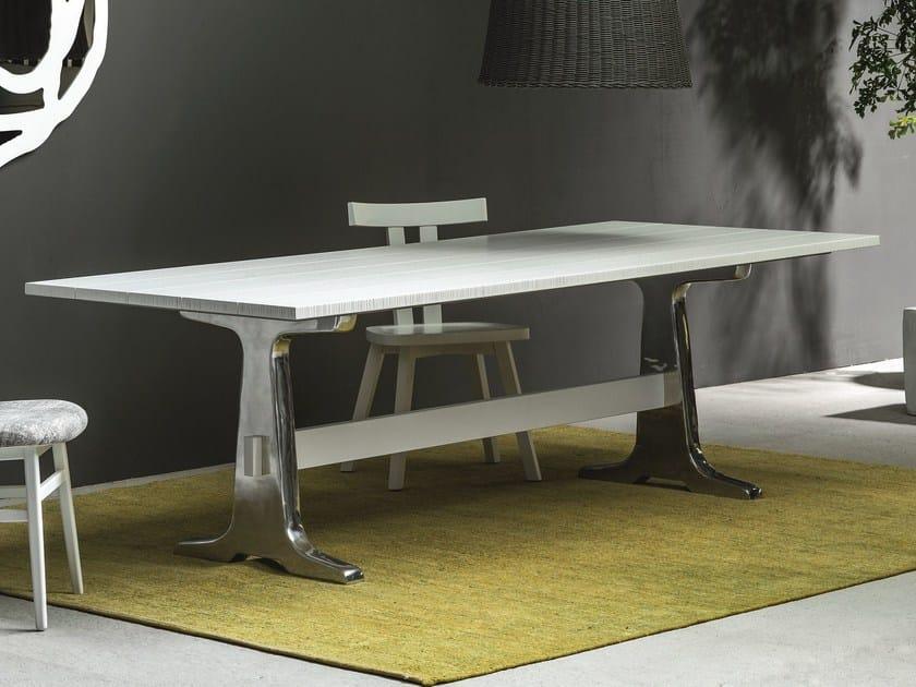 Rectangular table BRICK 133 - Gervasoni