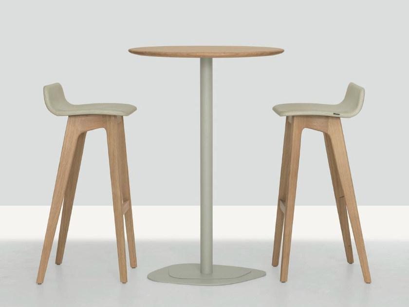Round high table KONTRA HIGH by ZEITRAUM