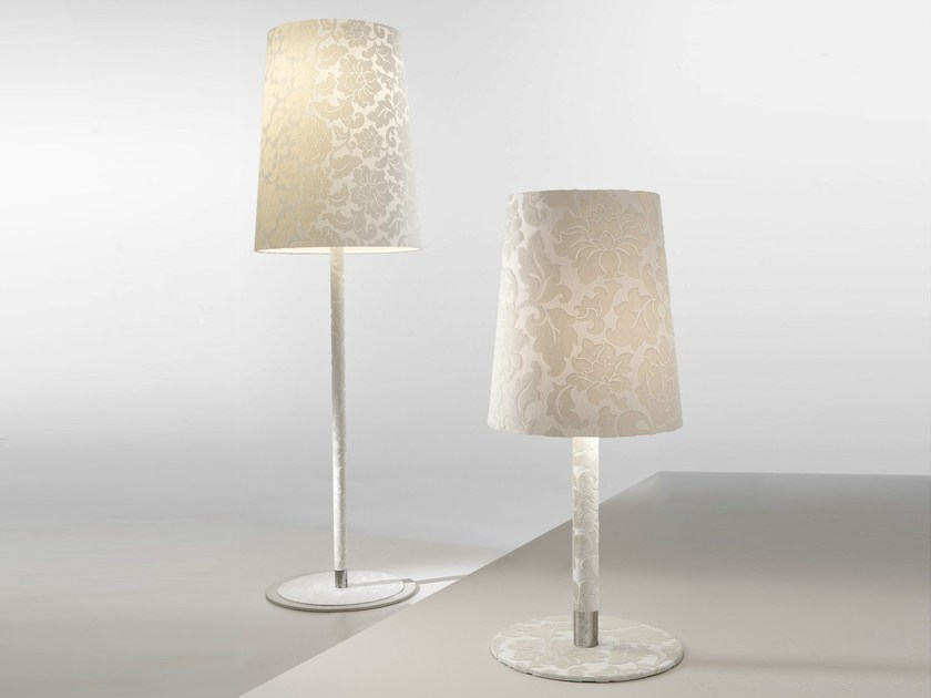 Fluorescent fabric table lamp DAMASCO | Table lamp - AXO LIGHT