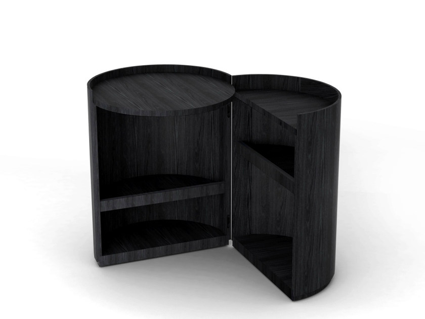Contemporary style coffee table / bedside table MOON by Living Divani