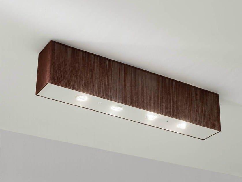 Handmade silk ceiling lamp CLAVIUS   Ceiling lamp - AXO LIGHT