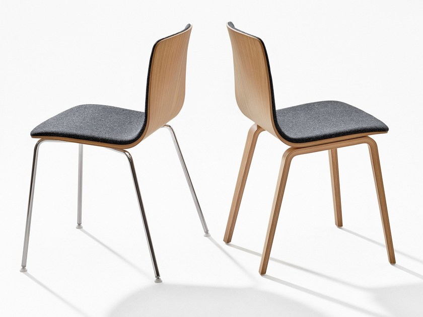 Aava chaise rembourr e by arper design antti kotilainen - Chaises empilables design ...