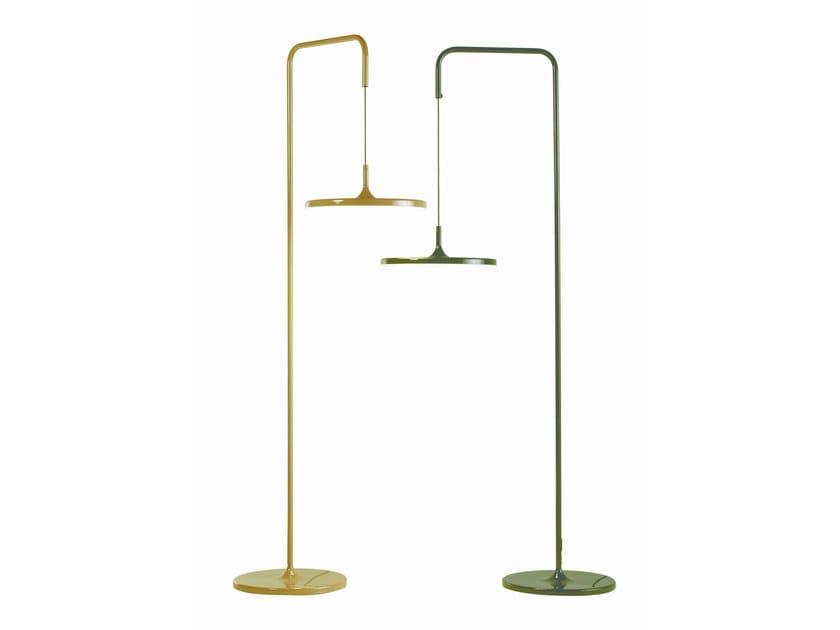 LED direct light metal floor lamp YOYO | Direct light floor lamp - ROCHE BOBOIS
