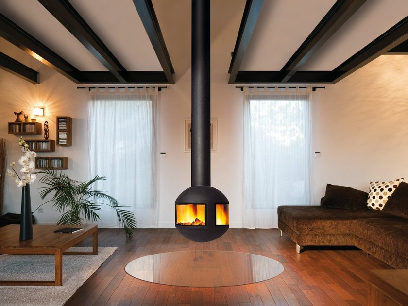 Central hanging fireplace AGORAFOCUS 631 - Focus
