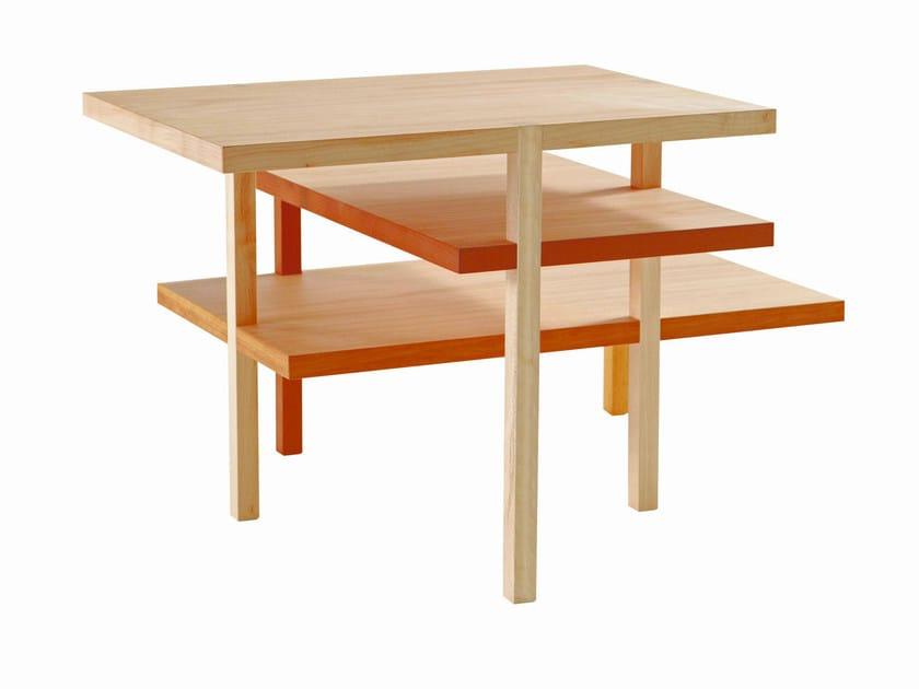 Low wooden coffee table AKIL - ROCHE BOBOIS