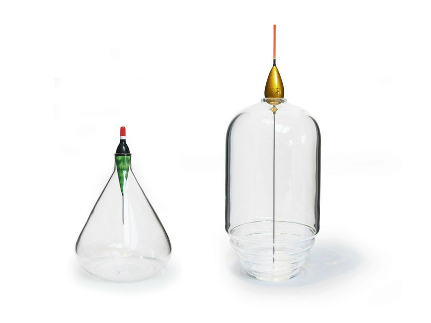 Blown glass vase LES PESCADOUS - ROCHE BOBOIS