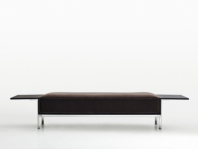 Upholstered bench CONTRORA | Bench - MOLTENI & C.