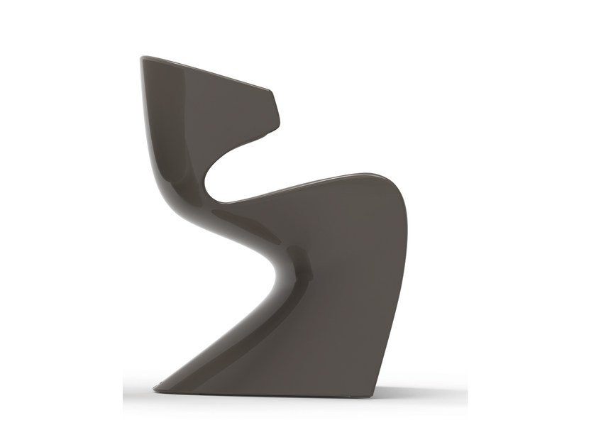 Cantilever chair with armrests WING | Garden chair - VONDOM