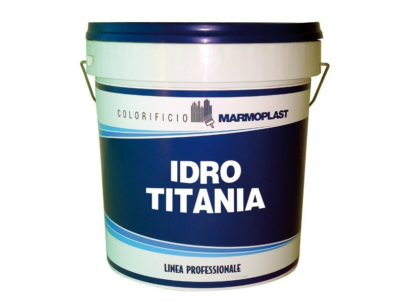 Washable water-based paint IDRO TITANIA ANTIMACCHIA - COLORIFICIO MARMOPLAST
