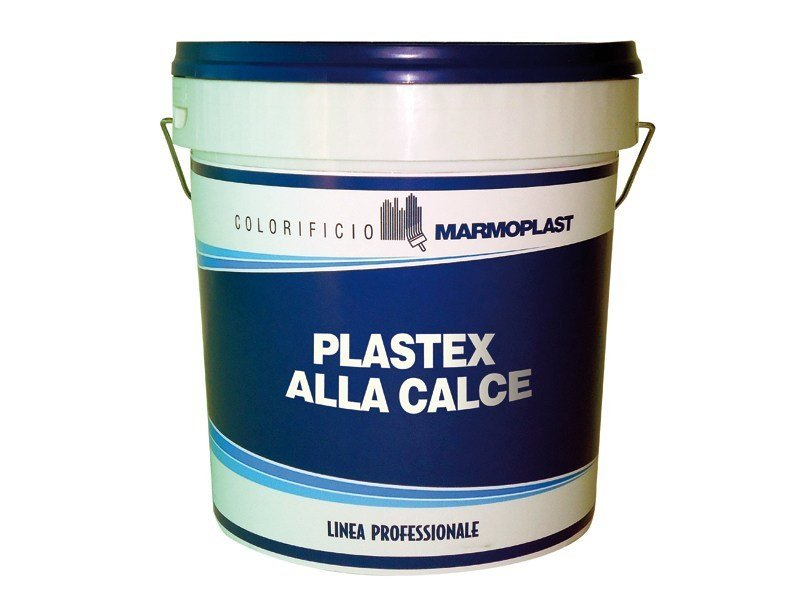Breathable water based paint plastex alla calce by for Exterior water based paint