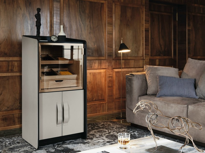 Cigar storage unit GENTLEMAN | Display cabinet - Flou