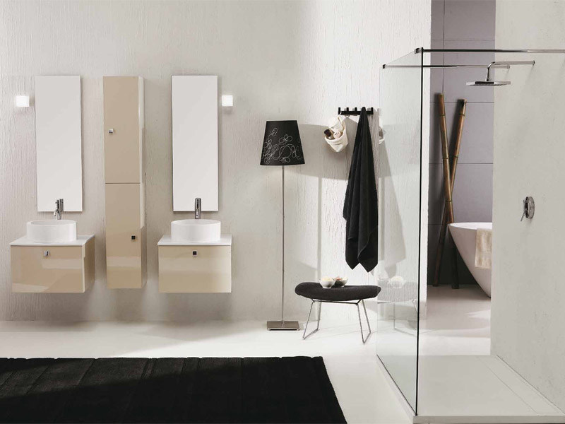 Lacquered vanity unit with drawers GENIUS G224 - LEGNOBAGNO