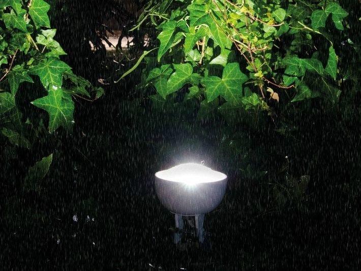 LED adjustable polycarbonate Floor lamp QUID | Floor lamp by Lombardo