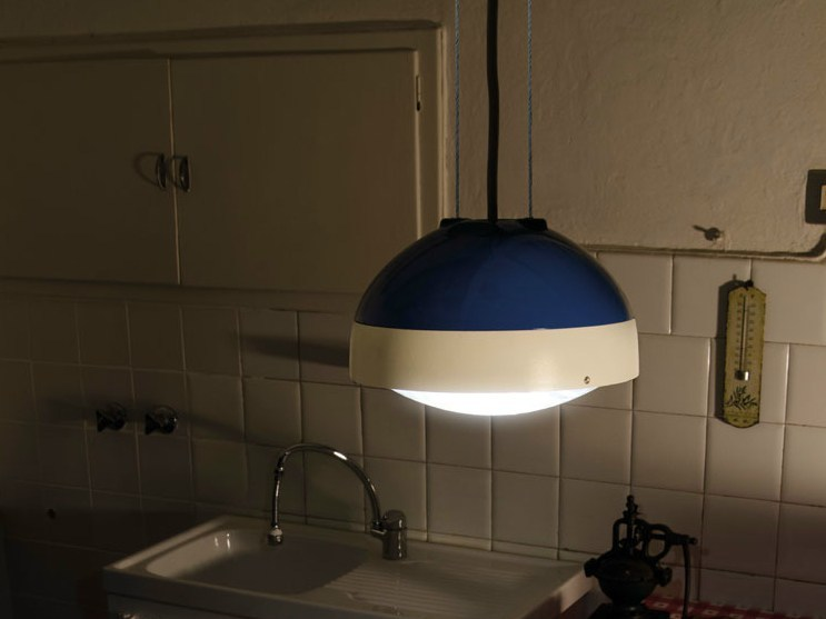 LED polycarbonate pendant lamp QUID | Pendant lamp by Lombardo