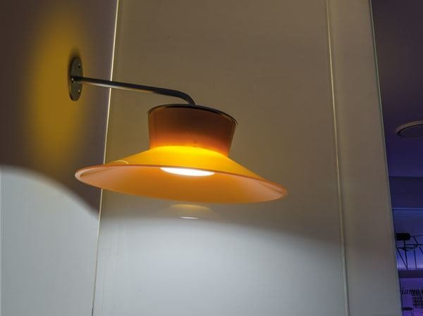 LED polycarbonate wall lamp with fixed arm QUID   Wall lamp with fixed arm - Lombardo
