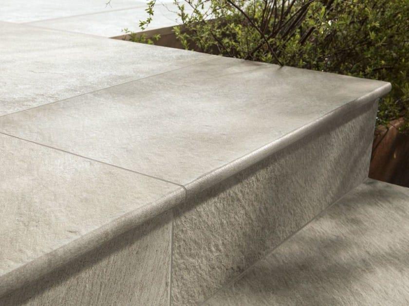 Pavimento per esterni in gres porcellanato dual step for Gradini in gres porcellanato