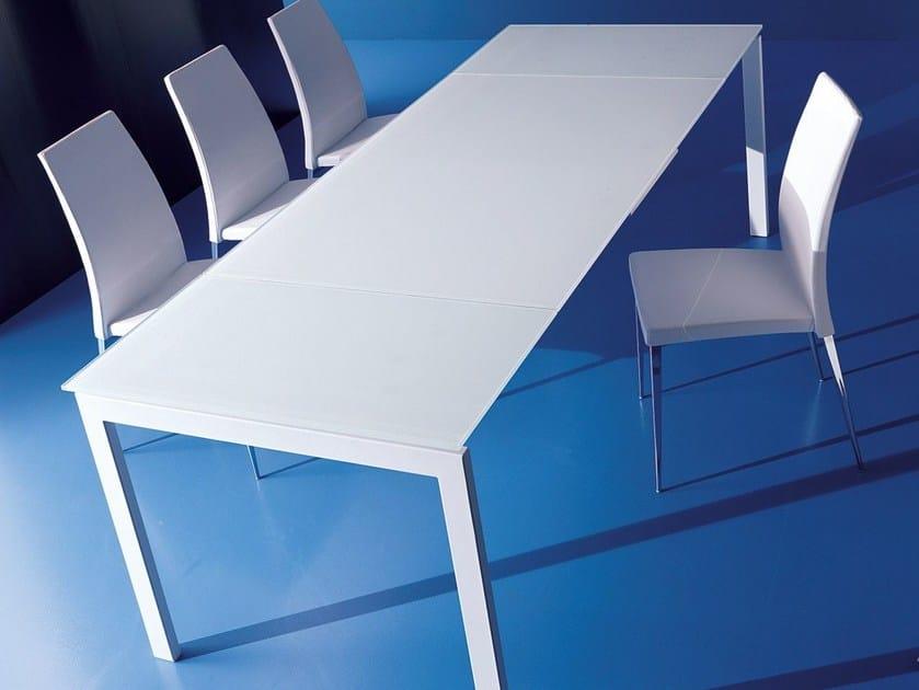 Extending dining table KEYO DUAL by Bontempi Casa