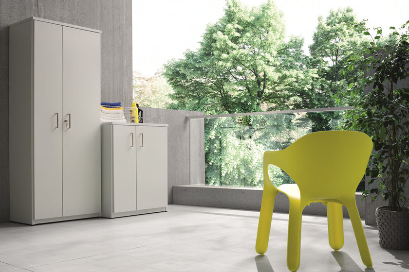 Mobile lavanderia per esterni per lavatrice braccio di ferro mobile lavanderia per esterni birex - Mobile terrazzo legno ...