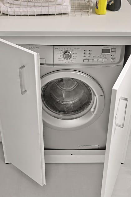 Mobile lavanderia per esterni per lavatrice braccio di for Lavatrice balcone