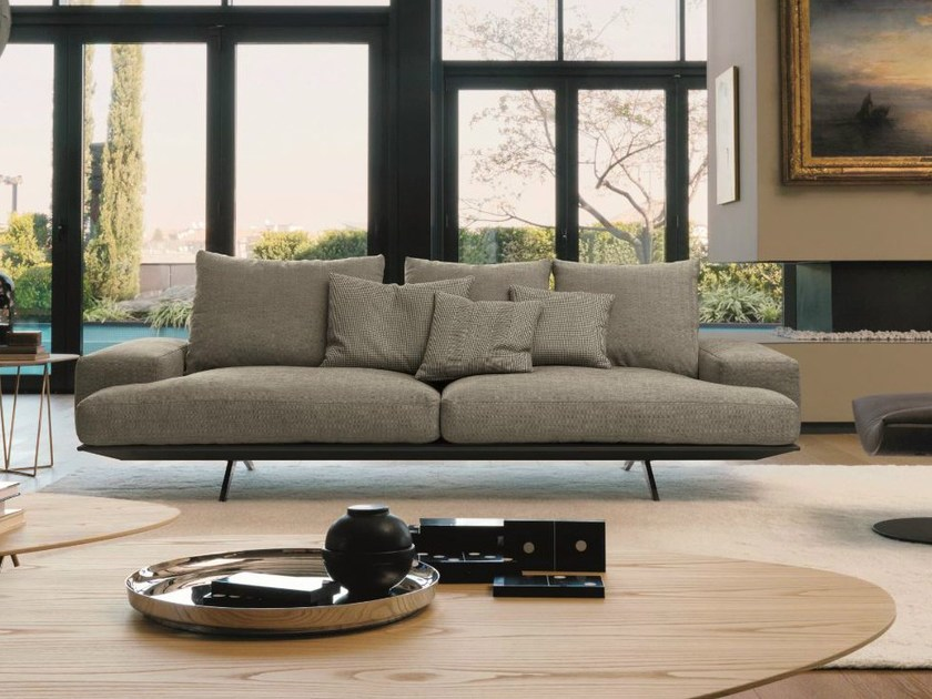 3 seater fabric sofa PLATZ SOFT by Désirée divani