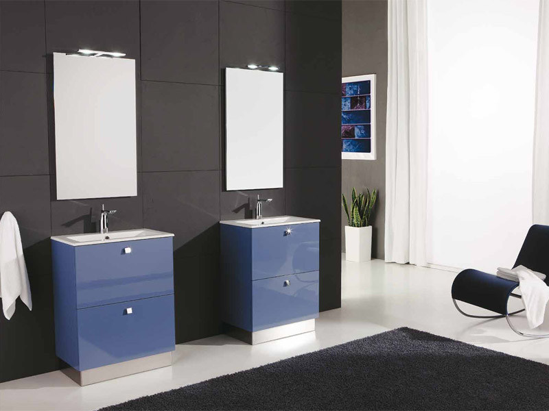 Lacquered vanity unit with drawers GENIUS G231 - LEGNOBAGNO
