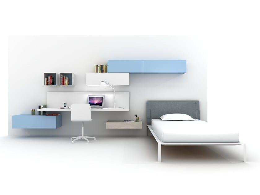Fitted teenage bedroom Z405 | Bedroom set - Zalf