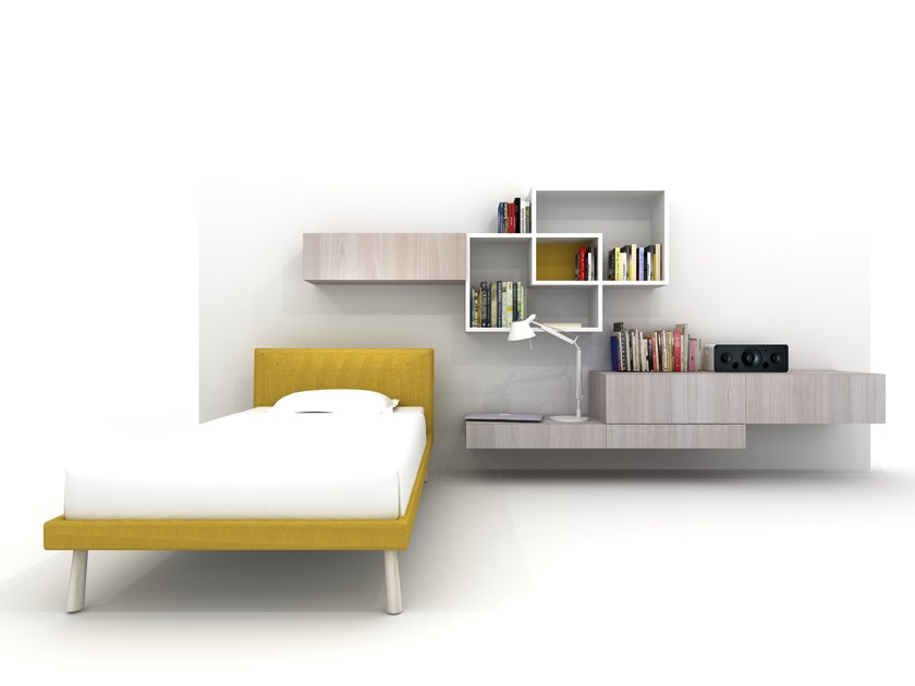 Fitted teenage bedroom Z408 | Bedroom set - Zalf