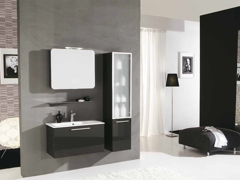 Lacquered vanity unit with drawers GENIUS G232 - LEGNOBAGNO