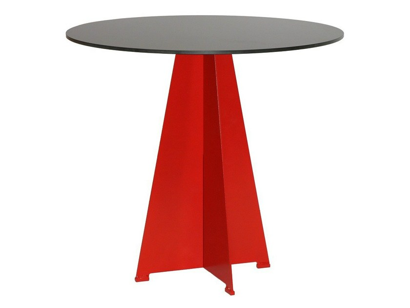 Steel contract table ORIONE by Vela Arredamenti