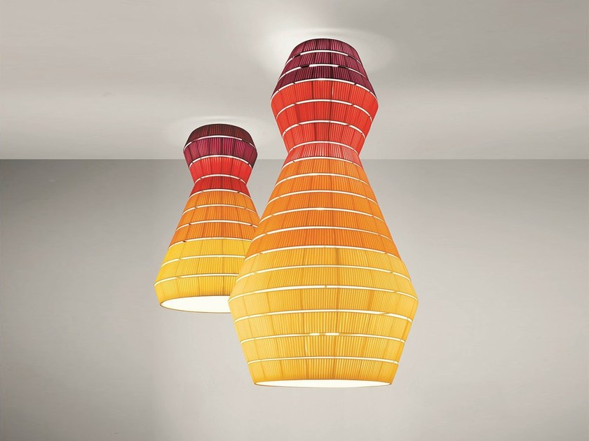 Fabric ceiling lamp LAYERS | Ceiling lamp - AXO LIGHT