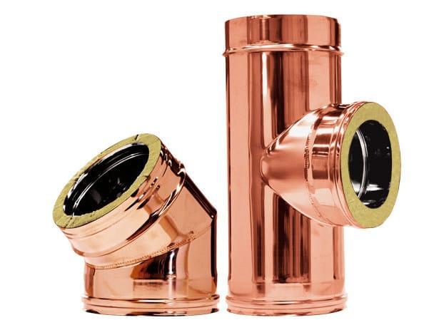 Copper flue Twin wall - Copper - CORDIVARI