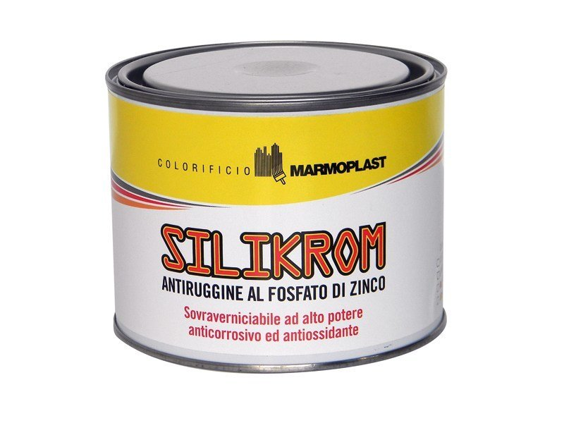 Rust prevention and converter product SILIKROM - COLORIFICIO MARMOPLAST