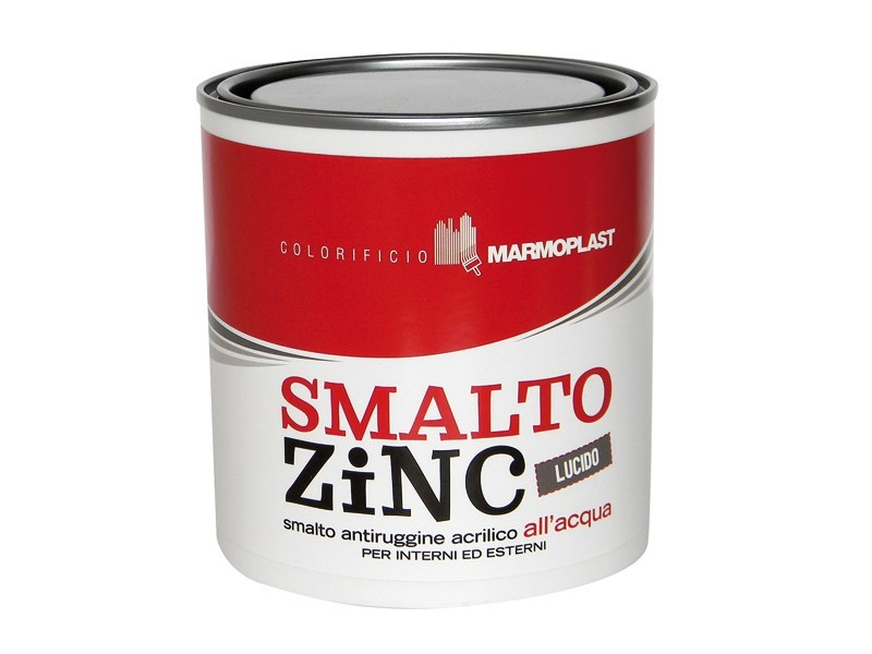Glossy rust-proof topcoat SMALTO ZINC LUCIDO by Marmoplast