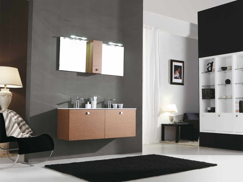 Double vanity unit with drawers GENIUS G234 - LEGNOBAGNO