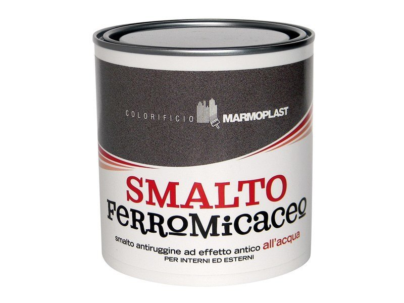 Enamel SMALTO FERROMICACEO - COLORIFICIO MARMOPLAST
