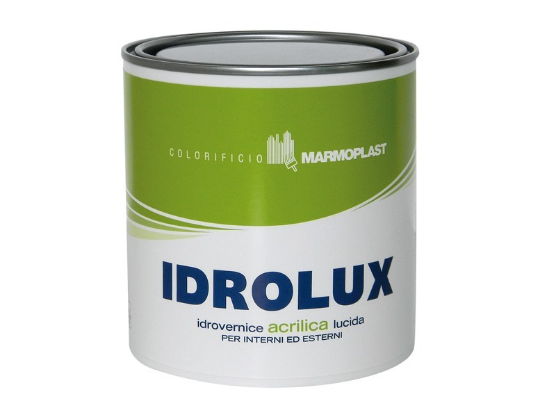Transparent varnish IDROLUX - COLORIFICIO MARMOPLAST