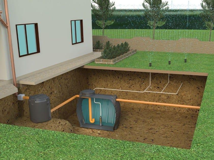 Sistema di recupero acqua piovana Sistema di recupero acqua piovana - CORDIVARI