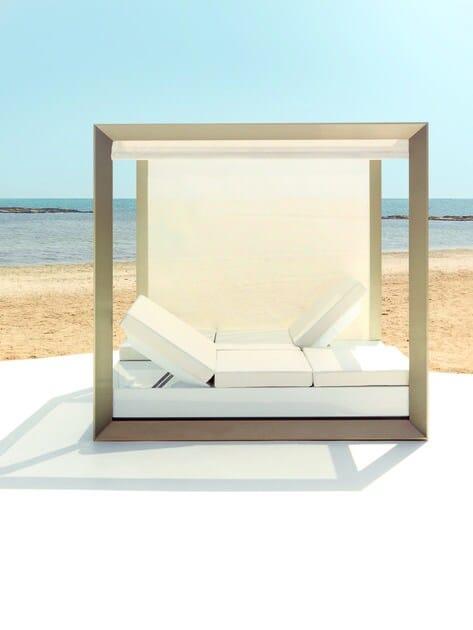 vela lit de jardin inclinable by vondom design ram n esteve. Black Bedroom Furniture Sets. Home Design Ideas