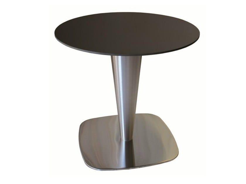 Stainless steel contract table RONDOGEL - Vela Arredamenti