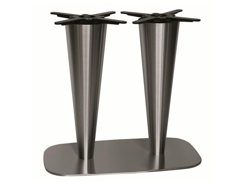Stainless steel table base RONDOGEL-84-2 - Vela Arredamenti
