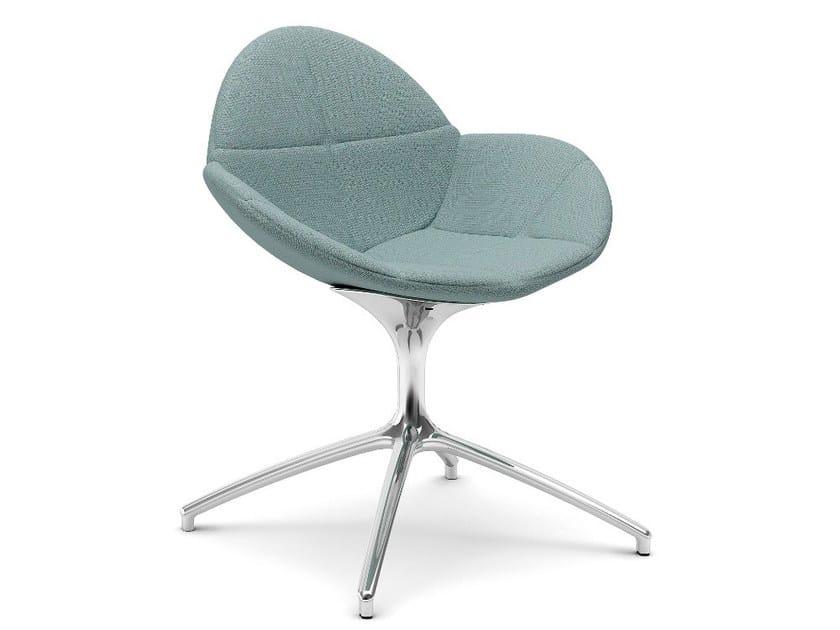 Swivel fabric chair COOKIE | Swivel chair - Infiniti
