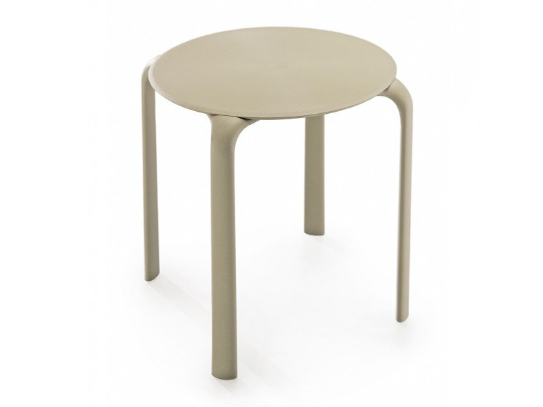 Stackable round table DROP | Round table by Infiniti