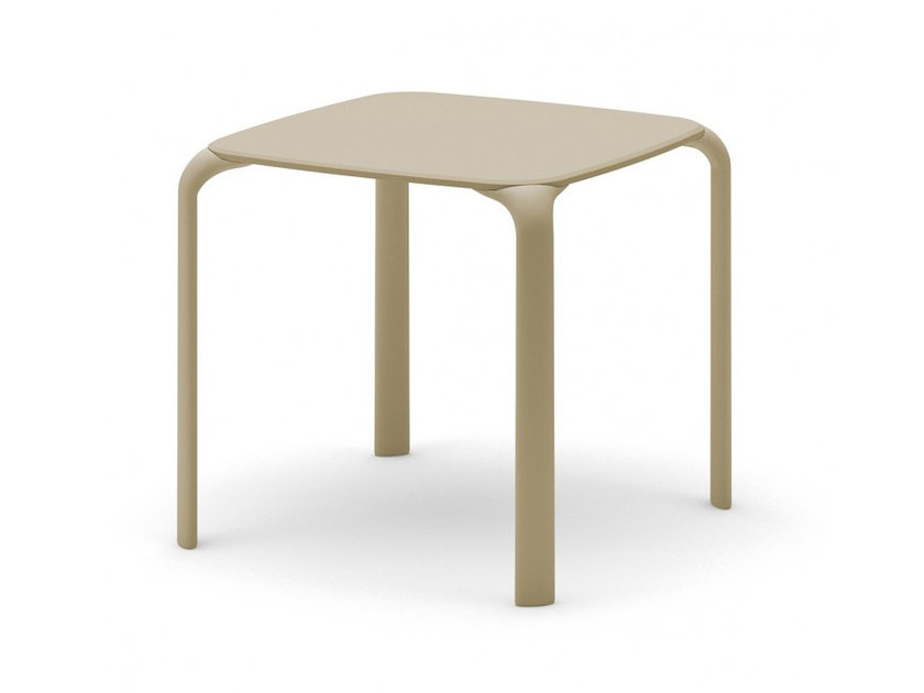 Stackable square table DROP | Square table - Infiniti