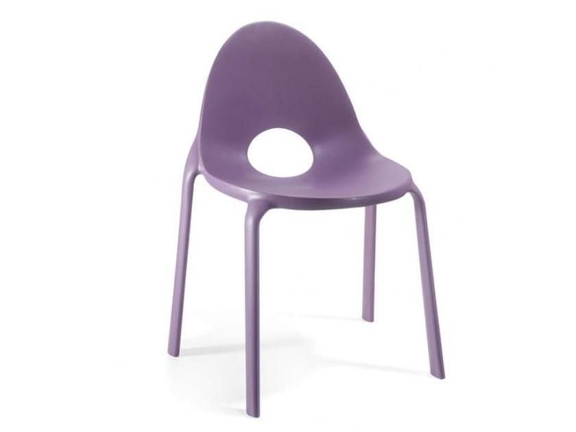 Stackable polypropylene chair DROP | Chair - Infiniti