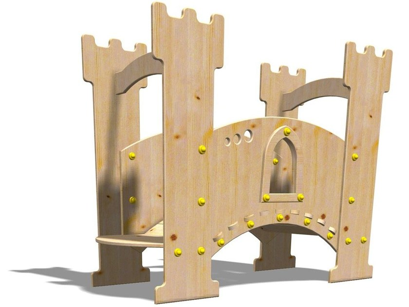 Wooden Play structure EXCALIBUR - Legnolandia