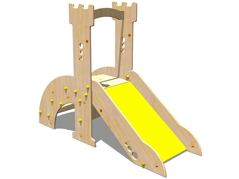 Wooden Slide TORRE ROBIN HOOD | Wooden Slide by Legnolandia