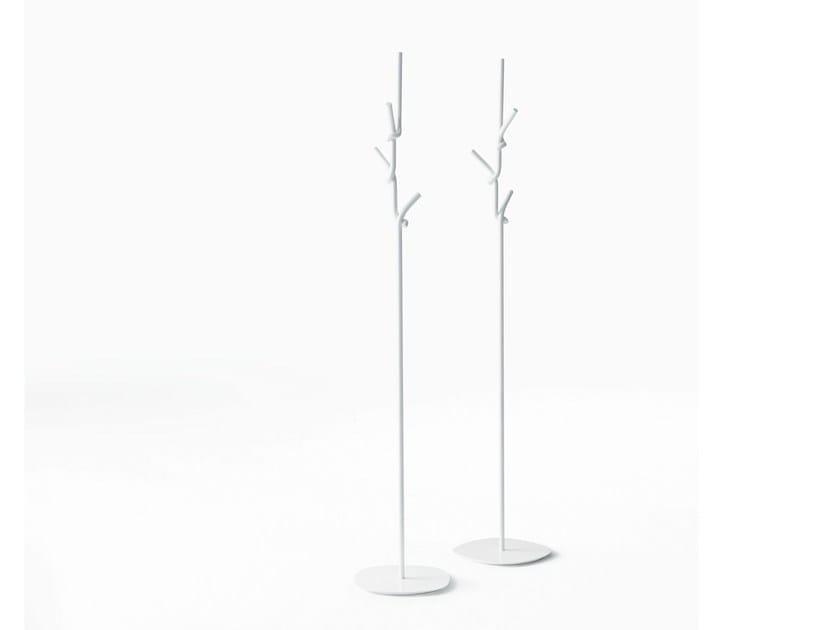 Metal coat stand SOFTER THAN STEEL | Coat rack - Desalto