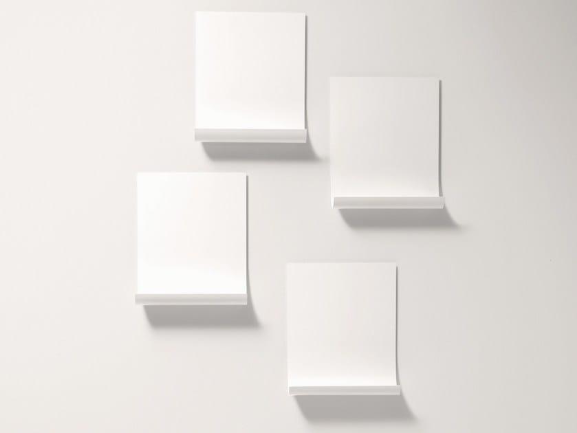 Plate wall shelf SOFTER THAN STEEL | Wall shelf - Desalto